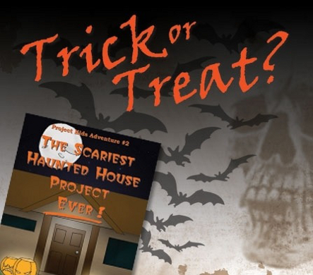Book reading – The Scariest Haunted House Project – Ever! – Project